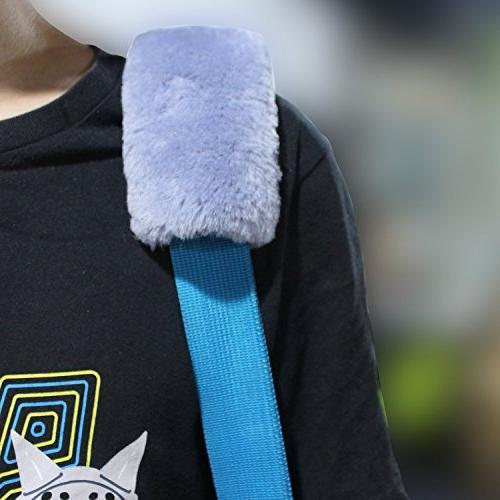 Car Seat Plush Seat Safety Strap Shoulder for Adults and Children, for Car Shoulder Bag