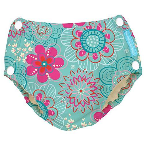 reusable easy snaps swim diaper