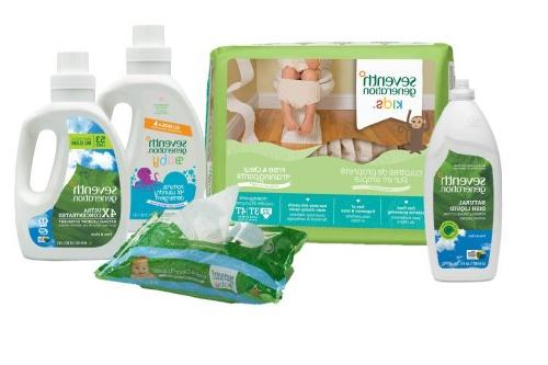 Seventh Generation Baby Toddler Training & Clear, 3T-4T 32-40lbs,