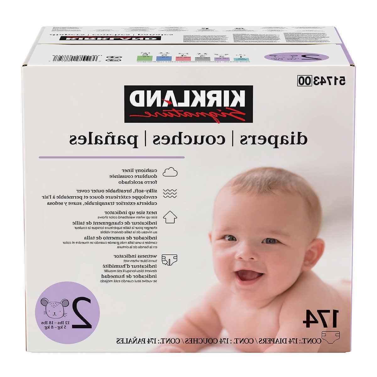 Kirkland Diapers 1-6
