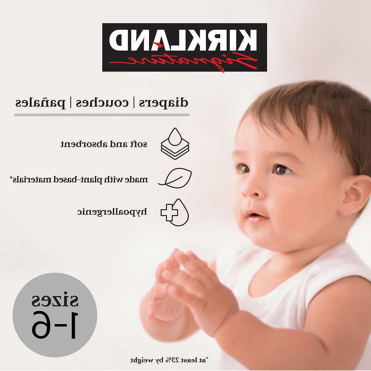 signature diapers sizes 1 6