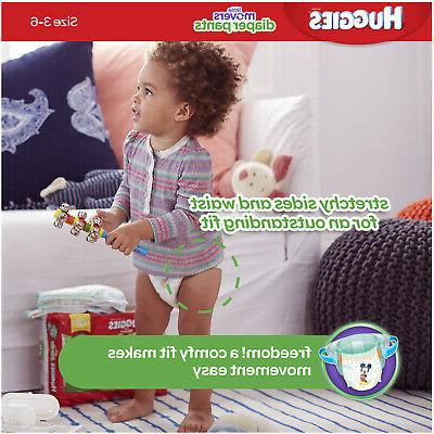 Huggies Pants Disney Size 100 Count 35+ lbs Little Movers