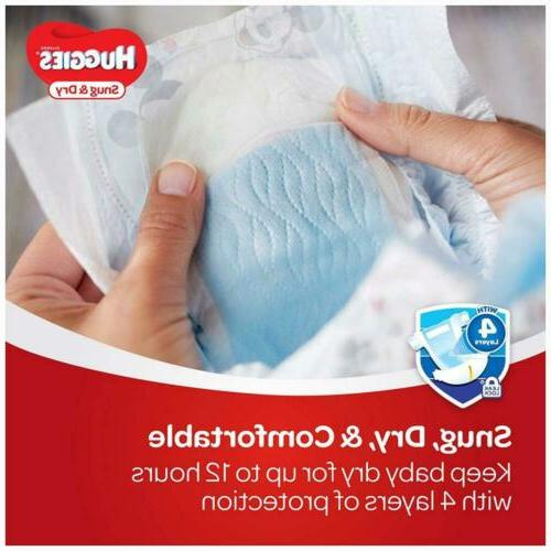 HUGGIES & Diapers, Size Count, PACK