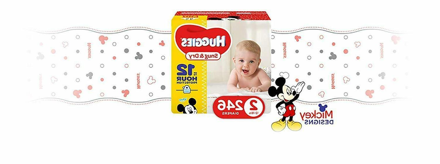 HUGGIES Size 246Count FREE SHIPPING