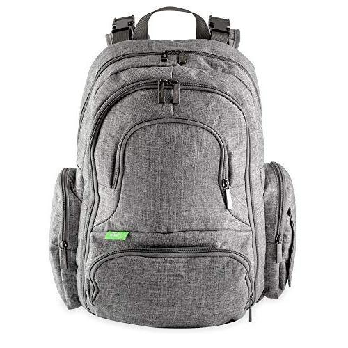 stylish backpack diaper bag