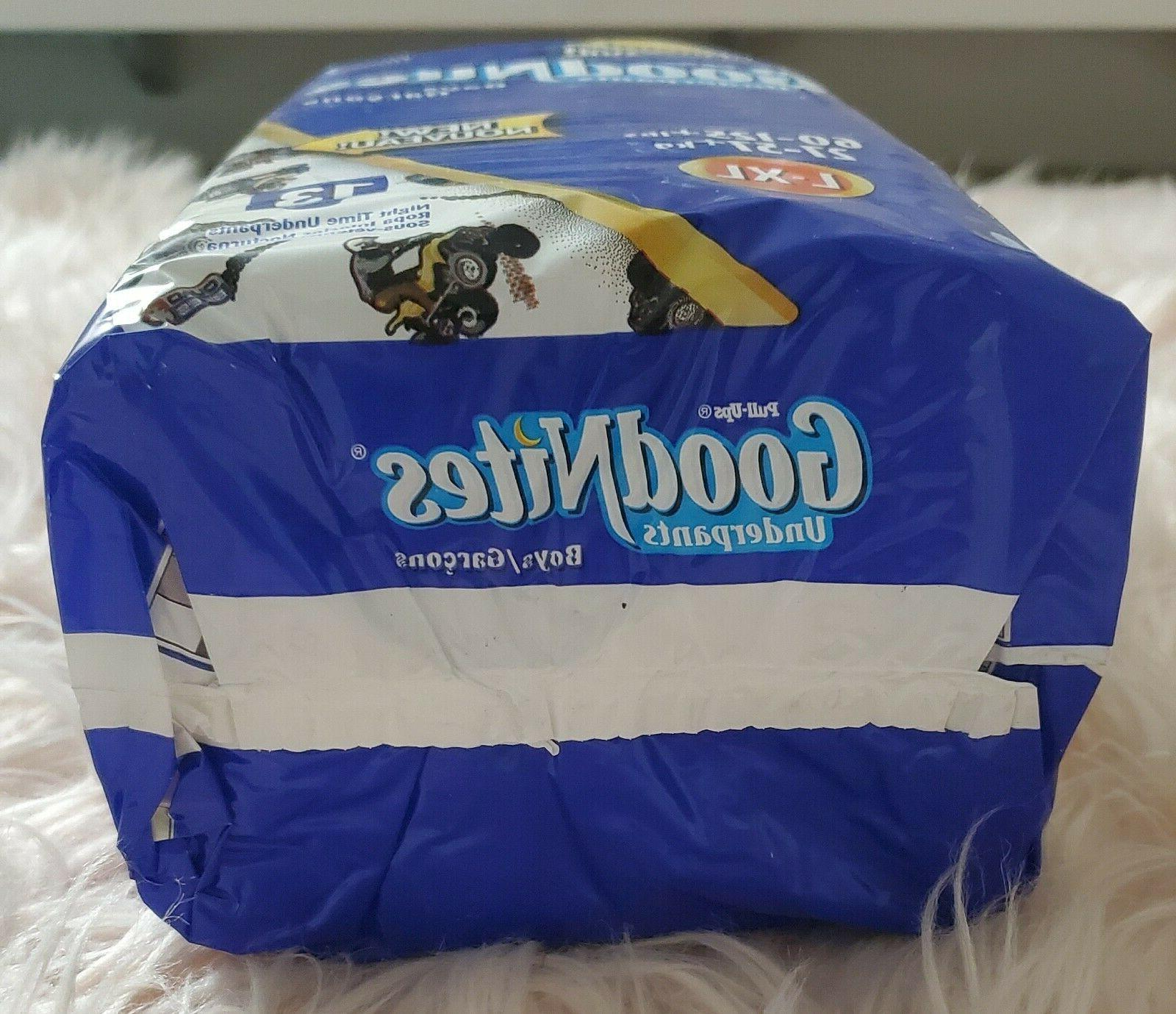 RARE 2002 PULL-UPS 13 BOYS DIAPERS