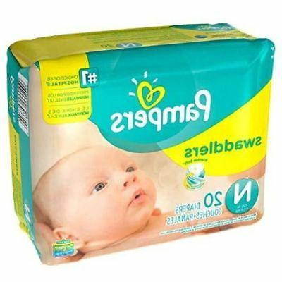 Pampers 12 Packs of Newborn Diapers 240