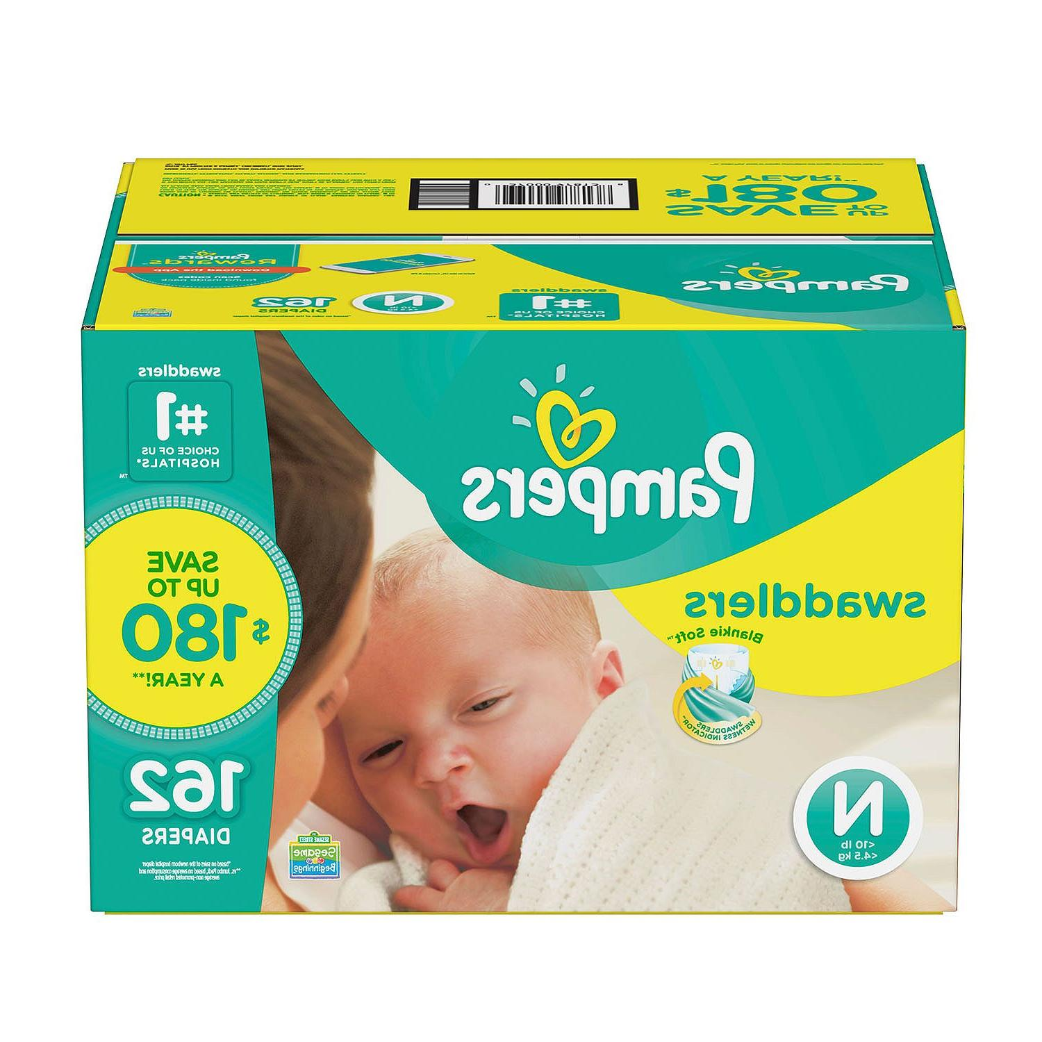 swaddlers diapers newborn size 1 2 3