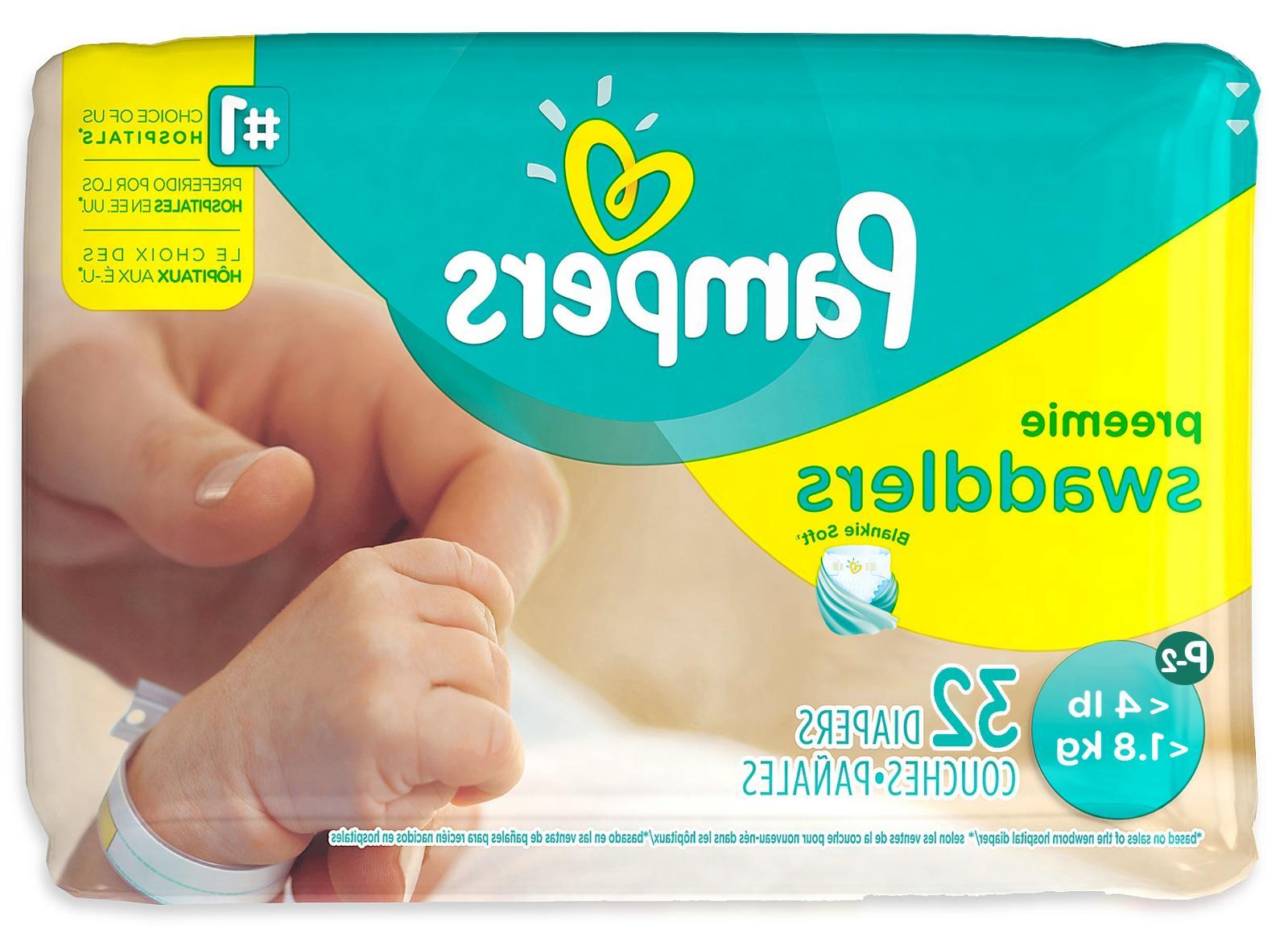 Pampers Swaddlers Diapers Preemie -