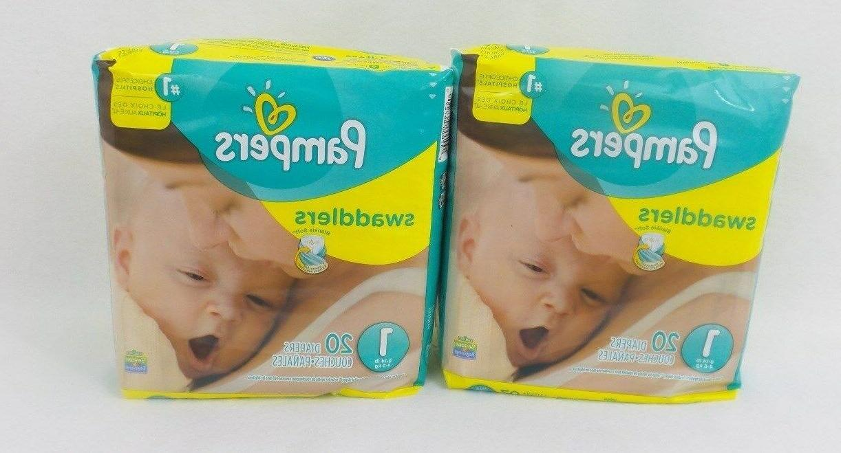 swaddlers diapers size 1 20 count pack