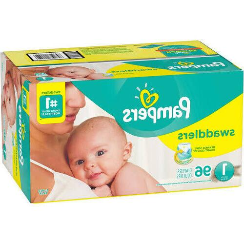 swaddlers diapers size 1 96 count