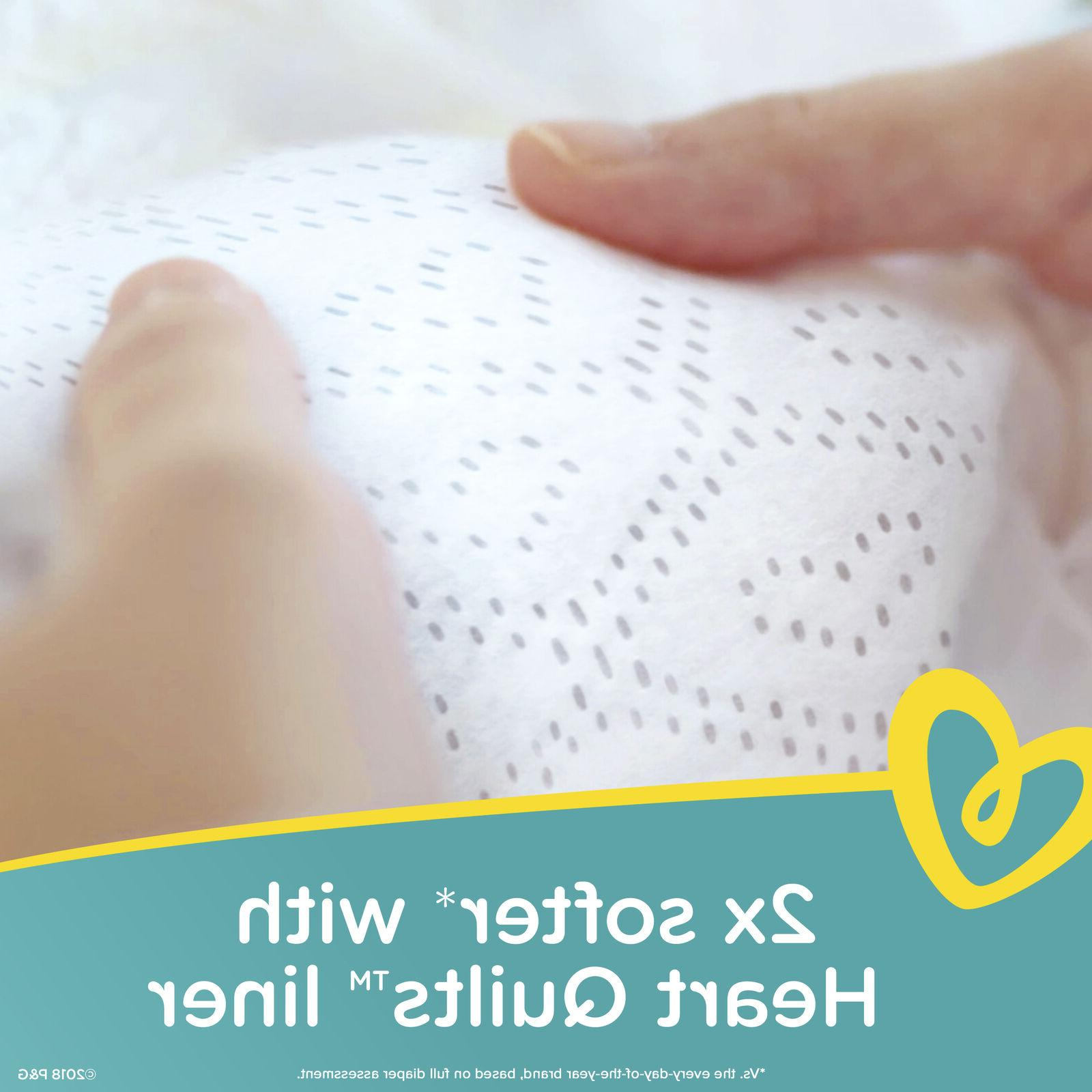 Pampers Swaddlers Absorbent Diapers, Size 132 Ct