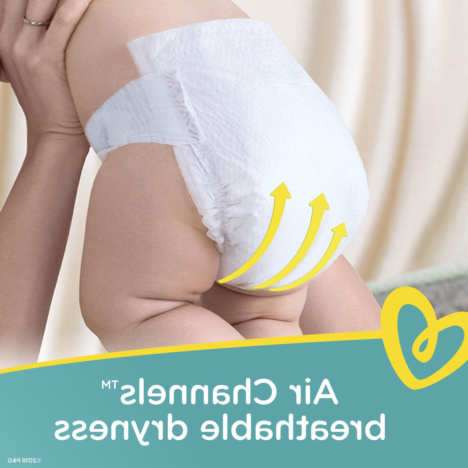 Pampers Swaddlers Soft and Absorbent Diapers, 132 Ct