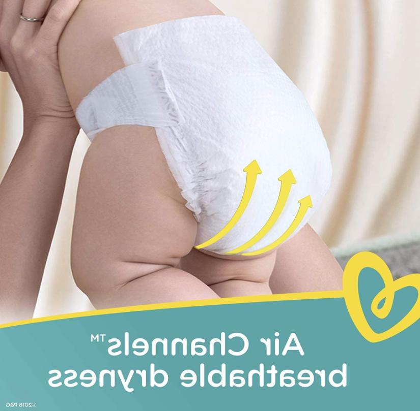 Pampers Disposable Diapers - Size 186