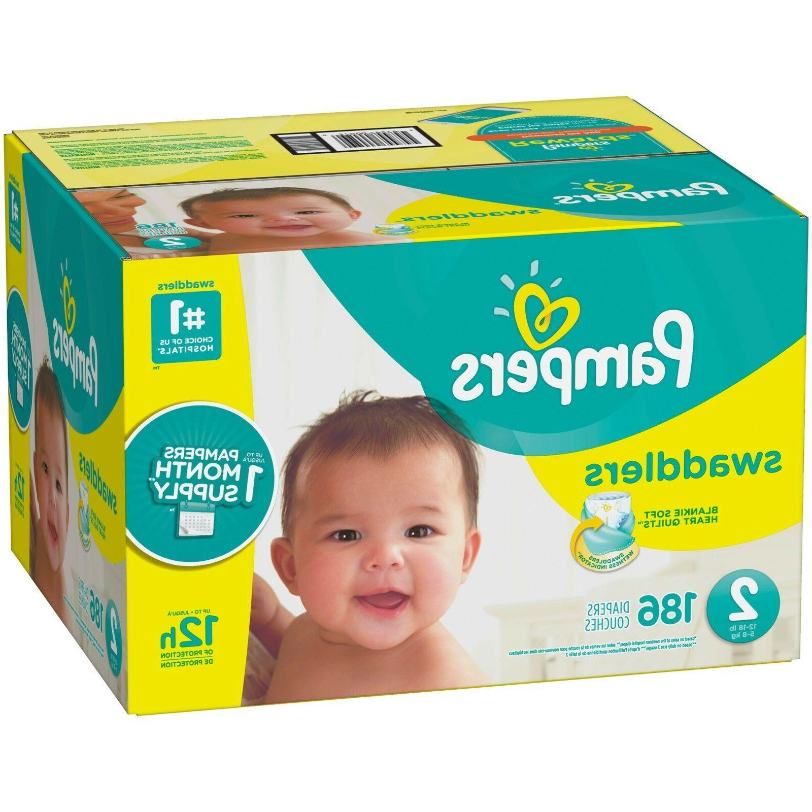Pampers Diapers Size Count