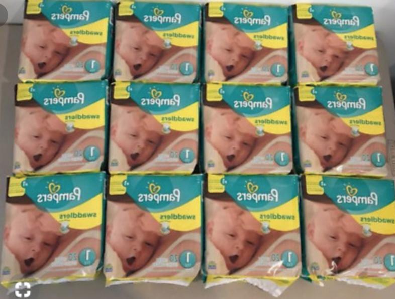 swaddlers size 1 mega box of 240