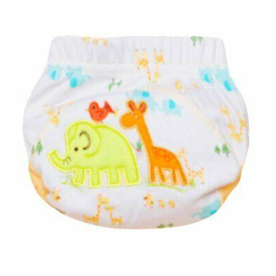 Toddler Nappy Training Pants Baby Reusable