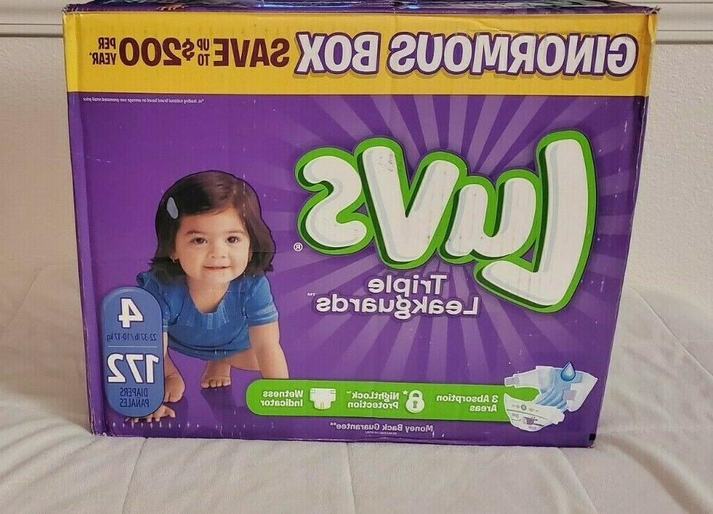 Luvs Diapers Size 4 Size 5