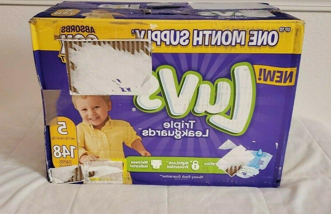 Luvs Diapers Size 5