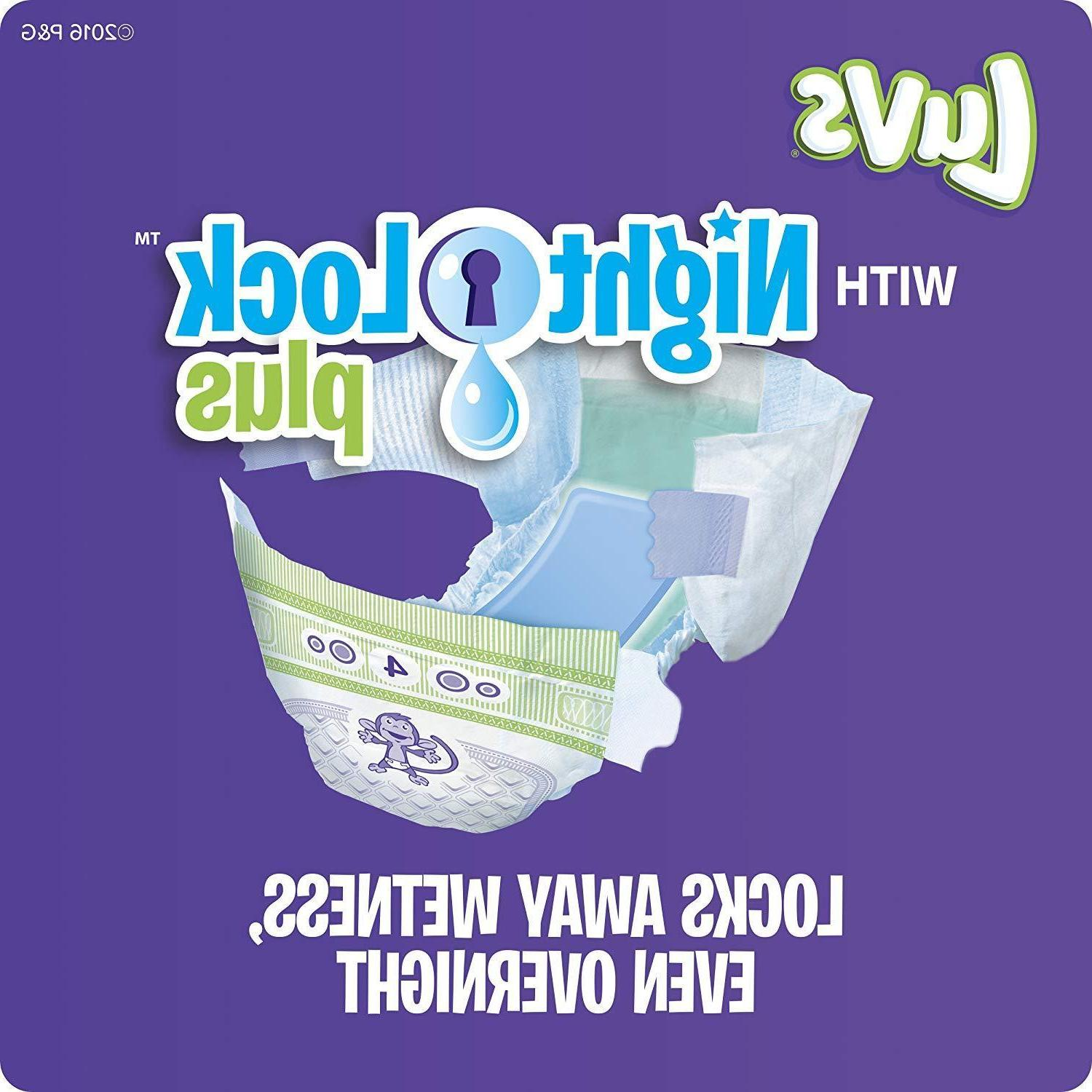 Luvs Baby Diapers Newborn 252 TAX **