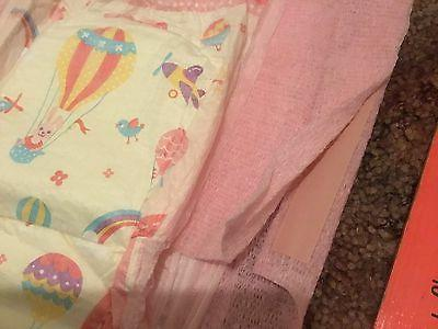Vintage Huggies Diapers Girls Goodnites XL Pull-Ups w Easy O