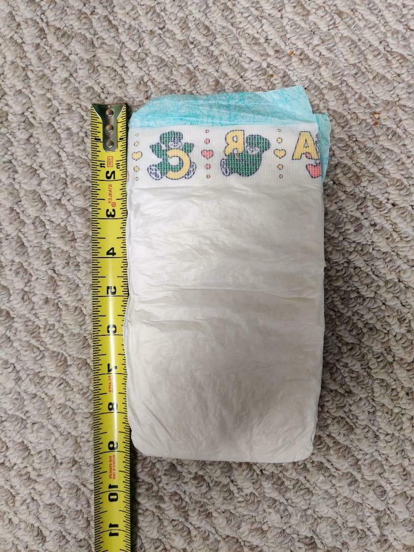 Vintage Baby Diapers - 5 24-55 lbs -