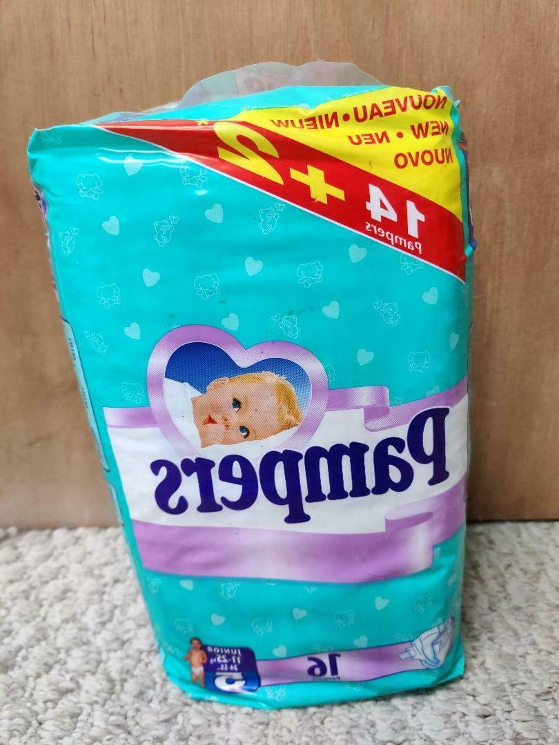 vintage plastic disposable baby diapers size 5