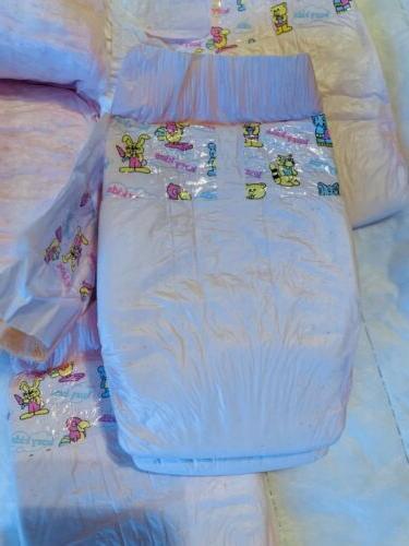 vintage plastic disposable diapers