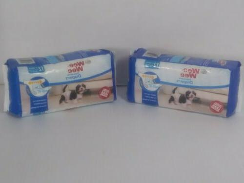 Four Paws Wee-Wee Diapers Tail-Hole, Disposable,
