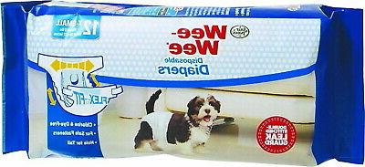 wee wee dog diapers with tail hole