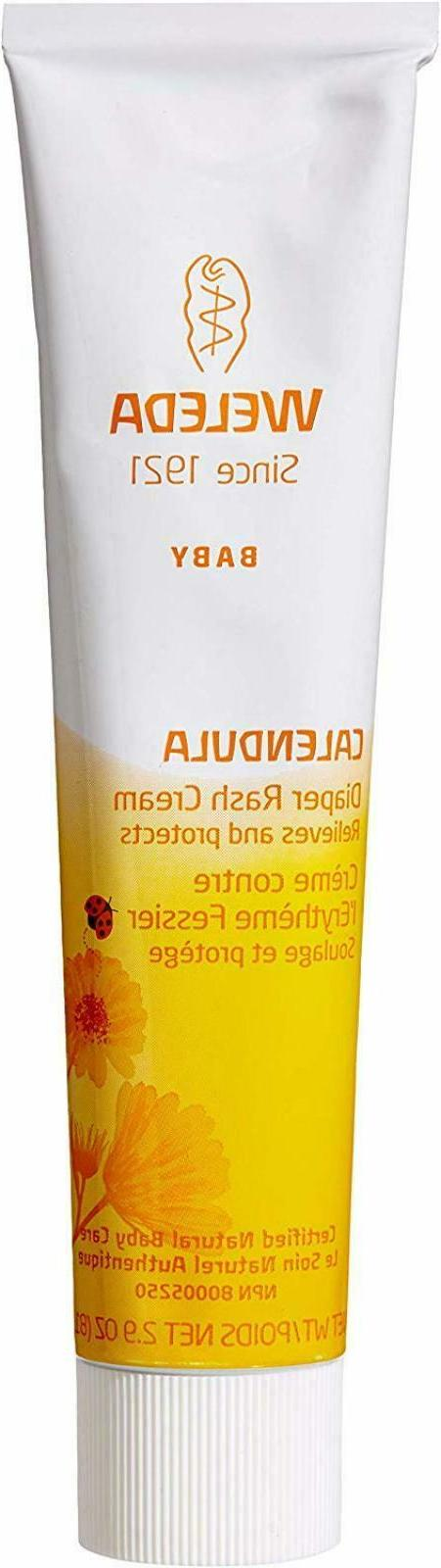 Weleda Diaper Rash Cream Calendula Gentle Relief Baby Health