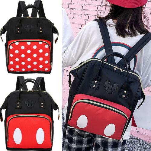 Women Mummy Diaper Bag Nappy Backpack Large Hot