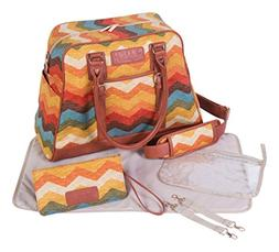 Waverly Baby by Trend Lab Panama Wave Adobe Carryall Diaper