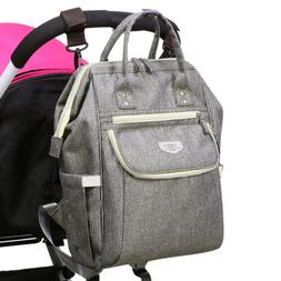 LAND Mommy Diaper Bag Backpack Baby Nappy Storage Travel Bag