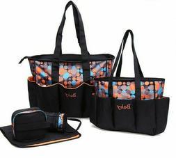 Large Baby Diaper Bag Set For Mom Mother Women Tote Bag Mate