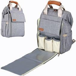 Large Capacity Baby Diaper Bag Travel Backpack Boy Girl Styl