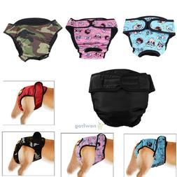 Large Female Dog Puppy Pet Diaper Pants Physiological Sanita