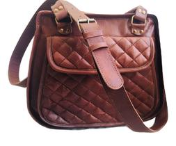 Leather Messenger Bag Sling bag Crossbody bag Shopping bag D