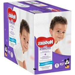 Huggies Little Movers Diapers Step 3, Giant Pack, 128 Count