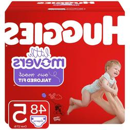 Huggies Little Movers Diapers Size 5 48 Diapers
