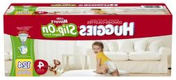 Huggies Little Movers Slip-On Diapers, Size 4, 124 Count