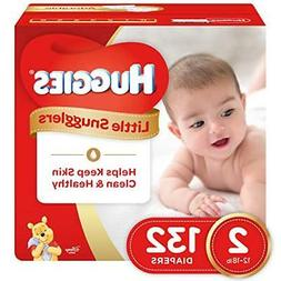 Huggies Little Snugglers Baby Diapers, Size 2, 132 Count, GI