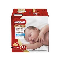 Huggies Little Snugglers Diapers for Newborn, Big Pack, 76 C