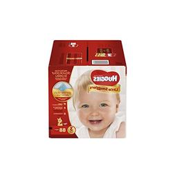 Huggies Little Snugglers Baby Diapers, Size 3, 88 Count, GIG