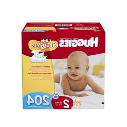 Huggies Little Snugglers Diapers Economy Plus, Size 2, 204 C
