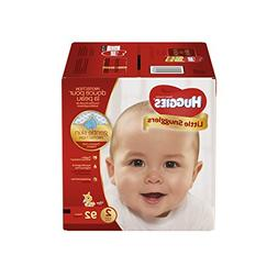 Huggies Little Snugglers Baby Diapers, Size 2, 92 Count, GIG