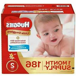 Huggies Little Snugglers Diapers, Size 2, 12-18 lbs.