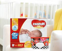 Huggies Little Snugglers Plus Diapers New Born Skin Care Ess