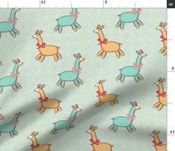 Llama Toys Baby Llamas Nursery Decor Animals Fabric Printed