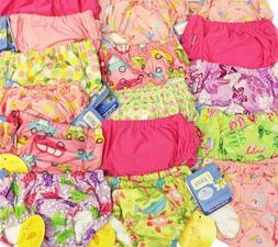LOT 3 NEW iplay Baby Toddler Girl Ultimate Swim Diapers UPF